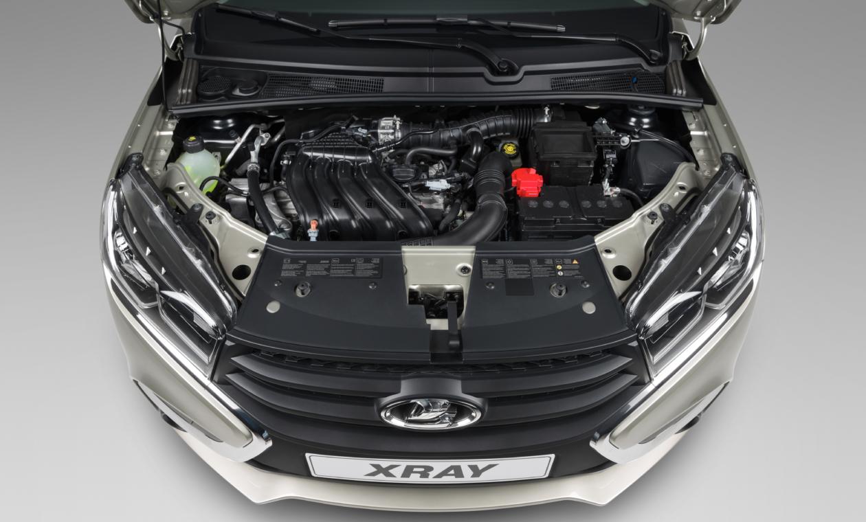 Lada Xray мотор